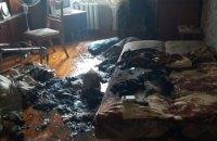 В Каменском пенсионерка отравилась угарным газом во время пожара в собственной квартире