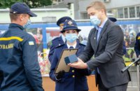 Спасатели Днепропетровщины получили награды по случаю профессионального праздника (ФОТОРЕПОРТАЖ)