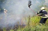 На Днепропетровщине произошло 2 масштабных пожара в экосистемах (ВИДЕО)