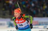 Две украинки попали в первую десятку на Кубке мира по биатлону