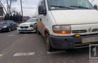 На Днепропетровщине столкнулись легковушка и микроавтобус (ФОТО)