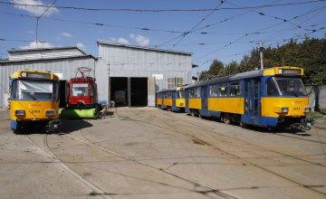 У Дніпрі готують до виходу на маршрути трамваї з Німеччини