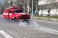 Сколько дорог и объектов было обработано на Днепропетровщине за минувшие сутки