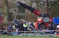 В Германии разбился полицейский вертолет: есть погибшие