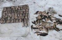 На Днепропетровщине задержали браконьеров, которые сетями вылавливали рыбу