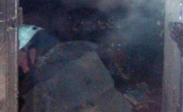 В Днепре во время пожара в жилом доме погиб мужчина