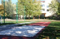 В Днепре на жилом массиве Тополь появилась современная минифутбольная площадка