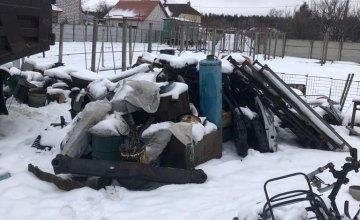 В Днепре пресекли деятельность трех нелегальных пунктов приема металлолома