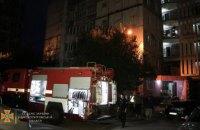 В Днепре пожарные спасли мужчину из горящей квартиры