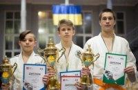 В Днепре состоялся командный турнир детской лиги дзюдо
