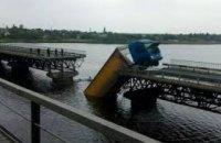 Стали известны сроки завершения реконструкции разрушенного моста через реку Чертомлык в Никопольском районе