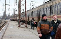 На Приднепровской железной дороге поймали 12 тыс. «зайцев» за месяц