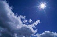 Сегодня в Днепропетровске малооблачно и сухо
