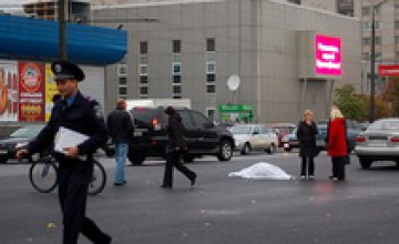 За рулем джипа, сбившего насмерть 3 женщин в Днепропетровске, был сын прокурора