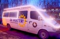 В Днепре стартовал один из самых ожидаемых новогодних проектов «Новогодний караван» (ФОТО)