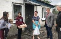 Команда «ОП–За жизнь» поздравила многодетные семьи в Магдалиновском районе