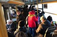 В Днепре хотят запретить перевозить пассажиров стоя
