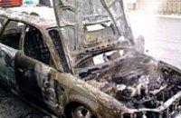 Автомобиль «Mitsubishi» сгорел в ДТП