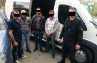 В Запорожье задержали четверых нелегалов, которые год находились в розыске (ФОТО)