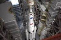 В США испытали супертяжелую ракету для полетов на Марс