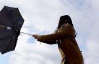 В Днепропетровской области спасатели предупреждают об усилении ветра
