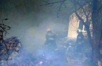 В Днепре ликвидировали пожар на территории частного домовладения (ВИДЕО)