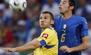 Букмекеры ставят на Украину в матче с Италией