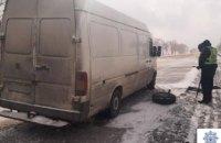 Патрульные Кривого Рога помогли водителю Volkswagen, повредившему колесо