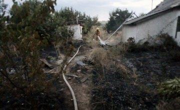 В Солонянском районе горел дом