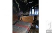 В одной из квартир Кривого Рога загорелся телевизор