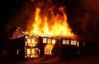 В Днепре сгорел жилой дом