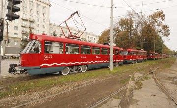 У Дніпрі трамвай № 12 тимчасово змінить маршрут через ремонт підпірної стінки по вул. Короленка