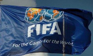 Сборная Украины поднялась на 23-е место в рейтинге ФИФА