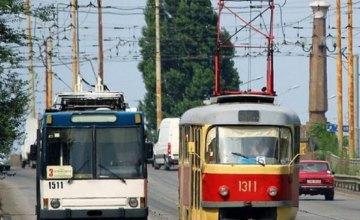 11 января в Днепре изменится движение электротранспорта