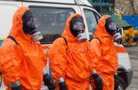 На Днепропетровщине состоялась тренировка подразделений ГУ ГСЧС в условиях радиационно-химически-биологической опасности (ФОТОРЕПОРТАЖ)