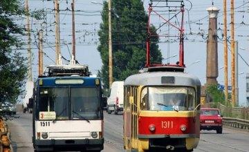20 января в Днепре произойдут изменения в движении электротранспорта