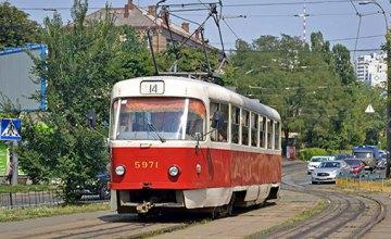 В Днепре приостанавливается движение трамваев