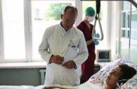 В больницу Мечникова доставили раненого снайпером бойца