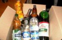 В колонии Днепропетровской области пытались передать почти 60 литров алкоголя