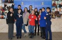 В Днепре спасатели и волонтеры провели тренинг для студентов факультета журналистики (ВИДЕО)
