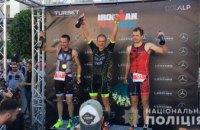 Полицейский из Днепра победил на мировых соревнованиях IRONMAN