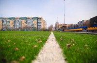 На финише строительство современного стадиона Каменской детской футбольной школы «Надежда», – Валентин Резниченко