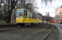 6 апреля в Днепре изменится график работы трамваев №5, №18, №19