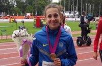 Днепропетровская спортсменка в тройке лучших легкоатлетов Европы