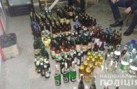 На Днепропетровщине в магазине торговали нелегальным алкоголем