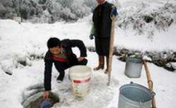 В Китае холода унесли жизни десяток людей