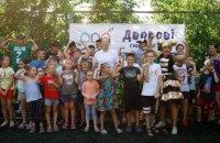 Дворовые спортивные игры на проспекте Поля, 42: эмоции зашкаливают! (ФОТО)