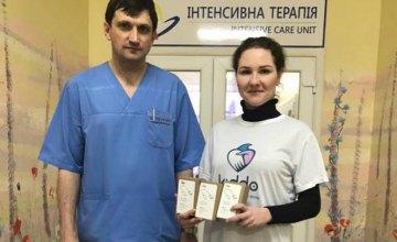 БФ Kiddo передал оборудование в детское отделение Днепропетровского кардиоцентра (ФОТО)