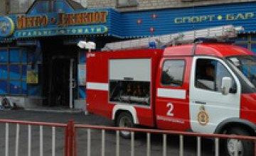 Милиция задержала наркомана, подозреваемого в причастности к пожару в зале игровых автоматов «Метро Джек Пот»