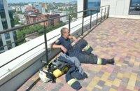 В Днепре состоялись соревнования по скоростному подъему пожарного-спасателя по лестничной клетке (ФОТО, ВИДЕО)